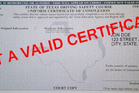 how to submit defensive driving certificate to court » Free ...