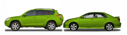 relative height of SUV and car bumpers a factor in crash damage