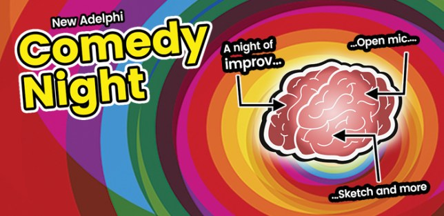 Comedy at Salford University