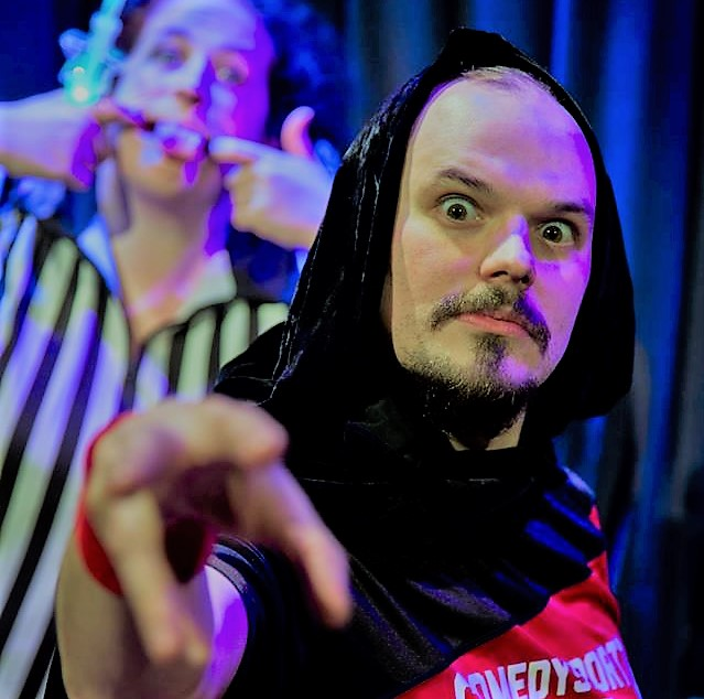 comedysportz improvised pantomime festive fun
