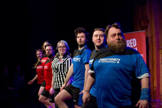 ComedySportz Manchester Improv Family Friendly