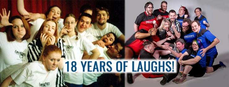 ComedySportz UK entertaining audiences since 2001