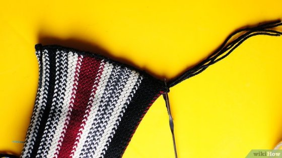 Immagine titolata Add Fringe to a Crochet or Knit Project Step 10