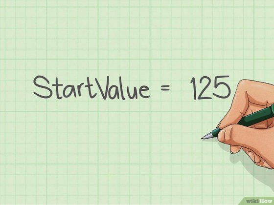 Immagine titolata Calculate an Annual Percentage Growth Rate Step 1