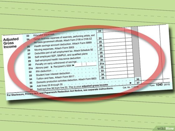 Immagine titolata Fill out IRS Form 1040 Step 5