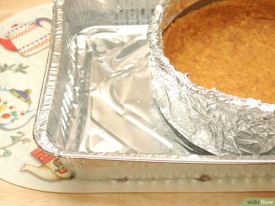 Immagine titolata Keep Cheesecake from Cracking Step 5