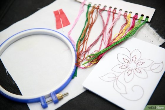 Immagine titolata Embroider by Hand Step 4