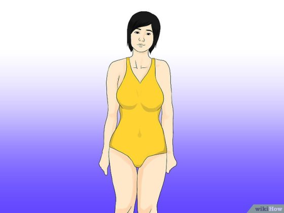 Immagine titolata Look Slim in a Swimsuit Step 6
