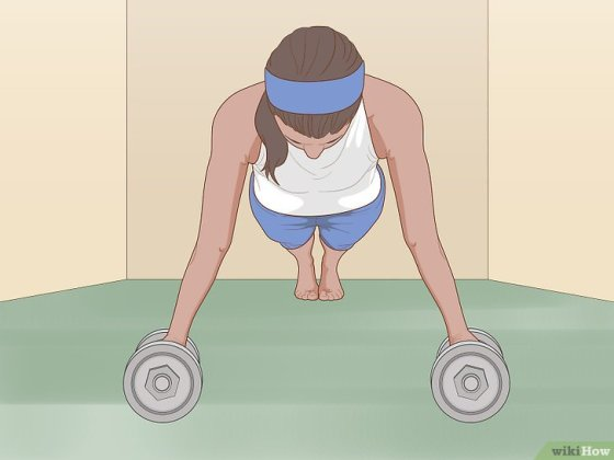 Immagine titolata Prevent Wrist Pain During Pushups Step 8