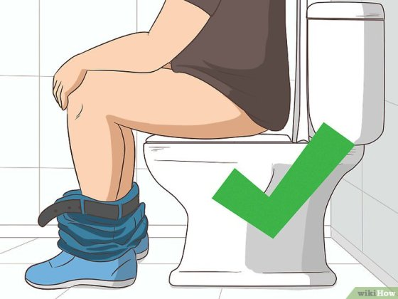 Immagine titolata Safely Use a Public Bathroom Step 4