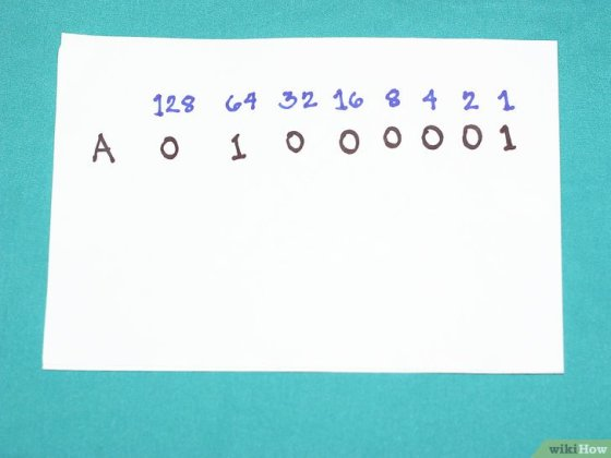 Immagine titolata Write Capital and Lowercase Letters in Binary Step 4Bullet1