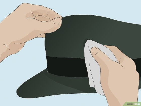 Immagine titolata Get Sweat Stains Out of Hats Step 12