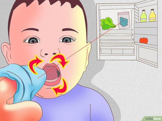 Immagine titolata Get a Teething Baby to Sleep Step 2