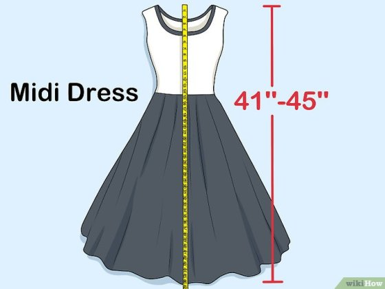 Immagine titolata Measure Dress Length Step 7