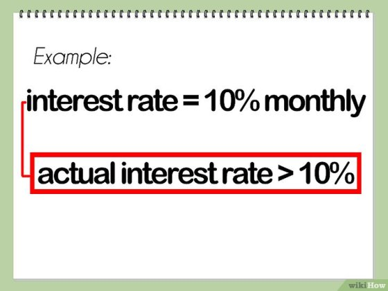 Immagine titolata Calculate Effective Interest Rate Step 1