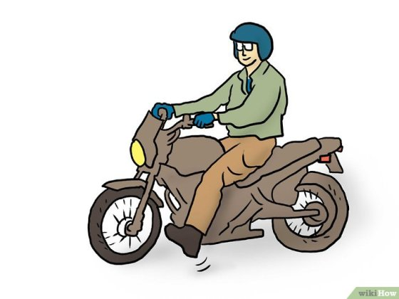 Immagine titolata Ride a Motorcycle (Beginners) Step 8