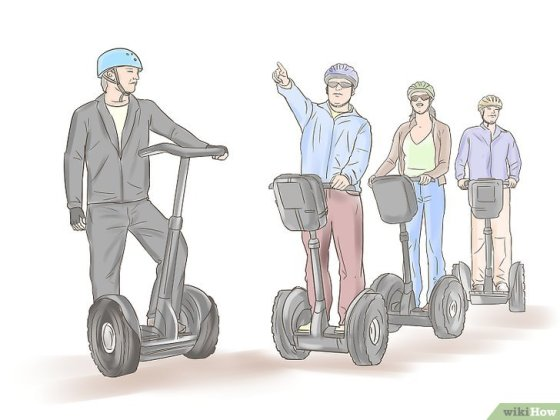 Immagine titolata Ride a Segway Safely Step 11