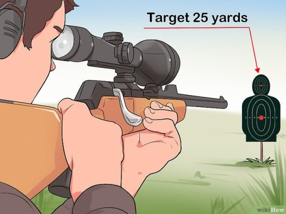 Immagine titolata Sight In a Rifle Step 12