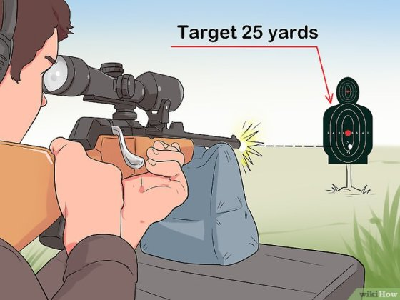 Immagine titolata Sight In a Rifle Step 20
