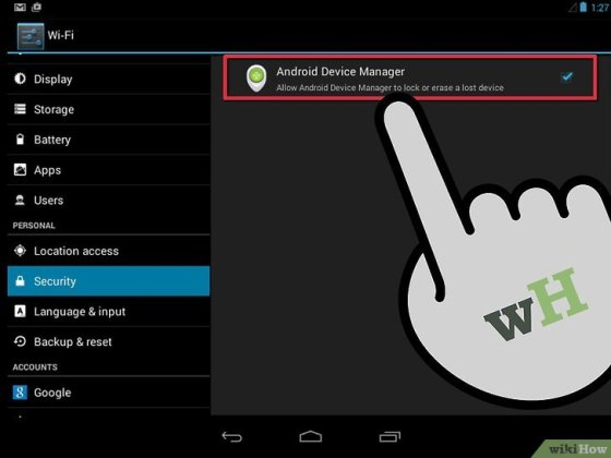 Immagine titolata Use Android Device Manager Step 5