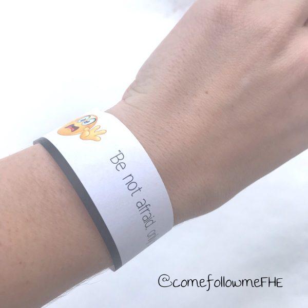 be not afraid bracelet for kids