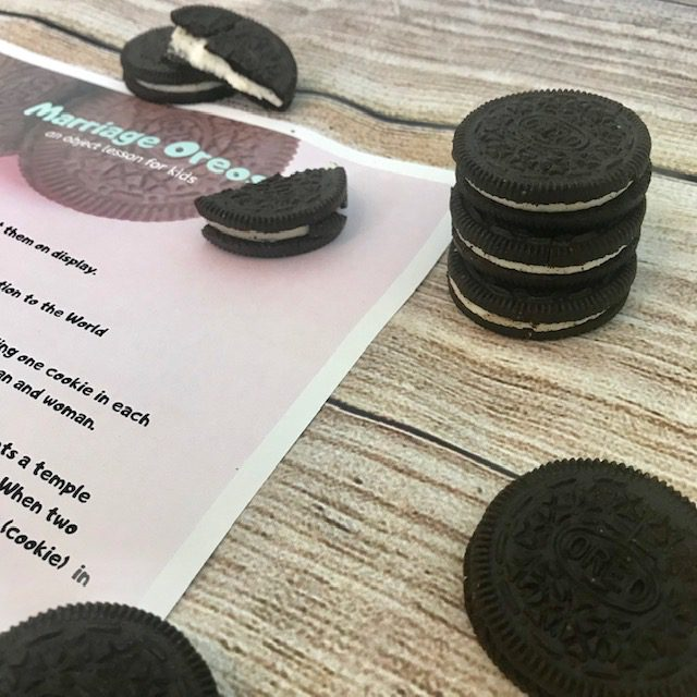 Marriage, Oreo Object Lesson
