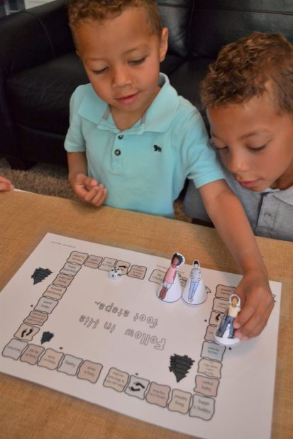 Follow In His Footsteps Board Game