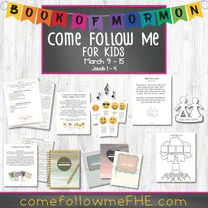 Come Follow Me lessons for families by Come Follow Me FHE