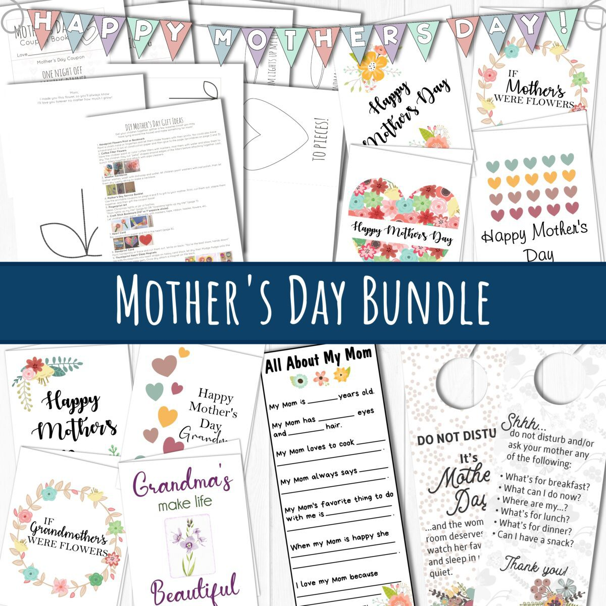 Mother's Day bundle by Come Follow Me FHE