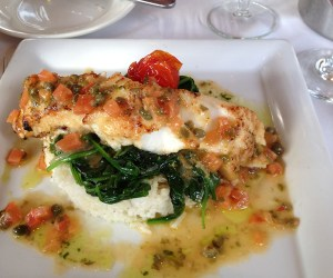 Photo of Cod and spinich