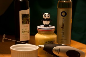 Photo of ingredients for Ai-Mei's  famous salad dressing