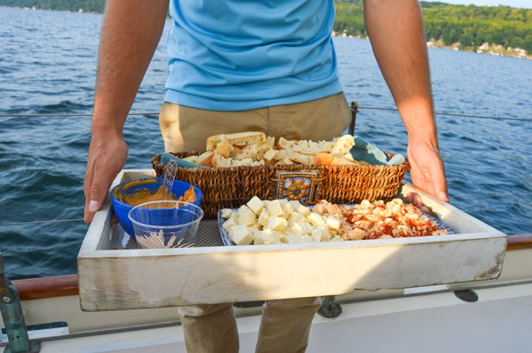 Cheese on boat ride