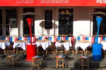 Paris Cafes Chez Eugene