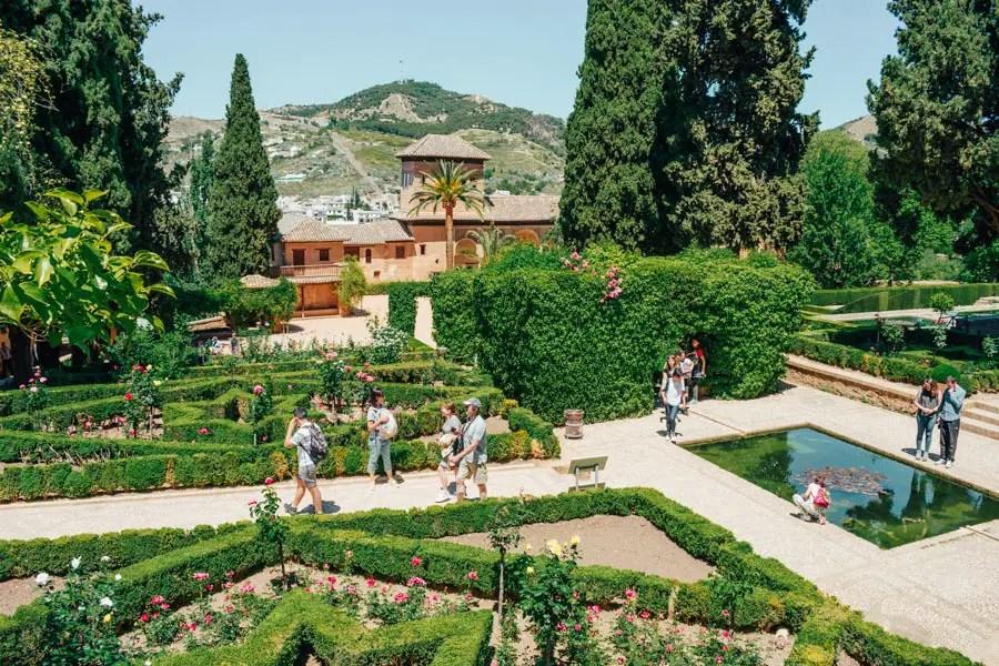 Alhambra, Granada (Garden)