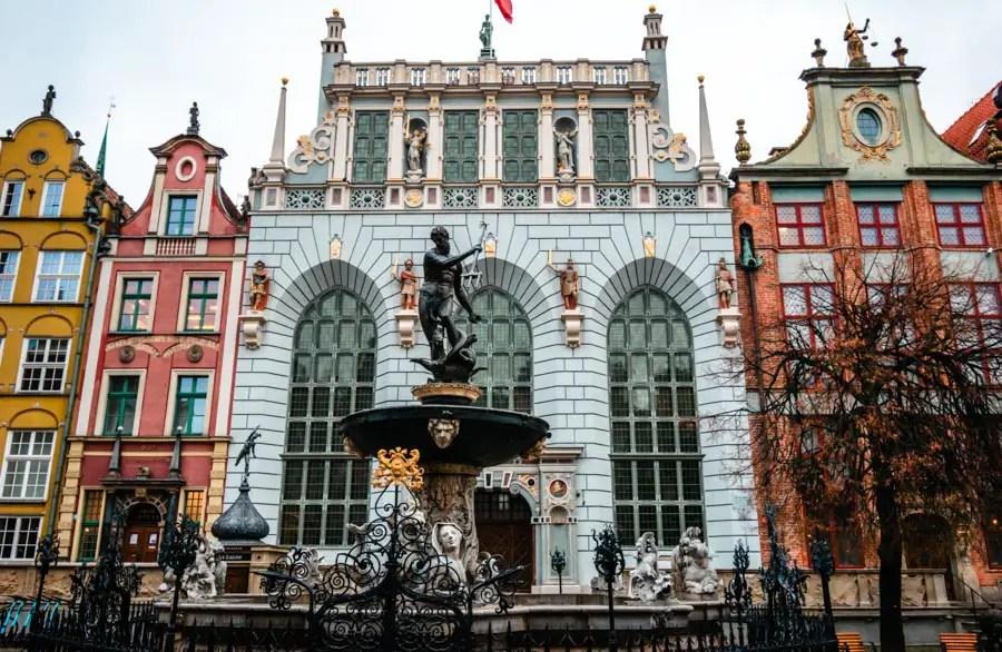 Gdansk Fountain