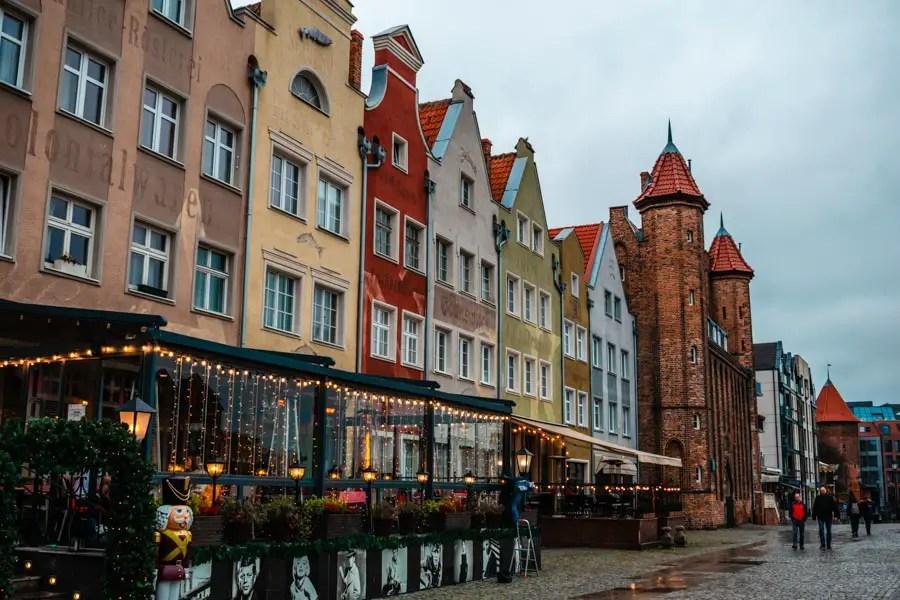 Gdansk restaurants by waterfront