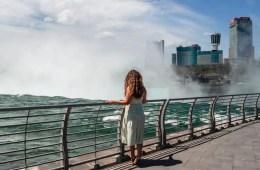 Niagara Falls With No Crowds