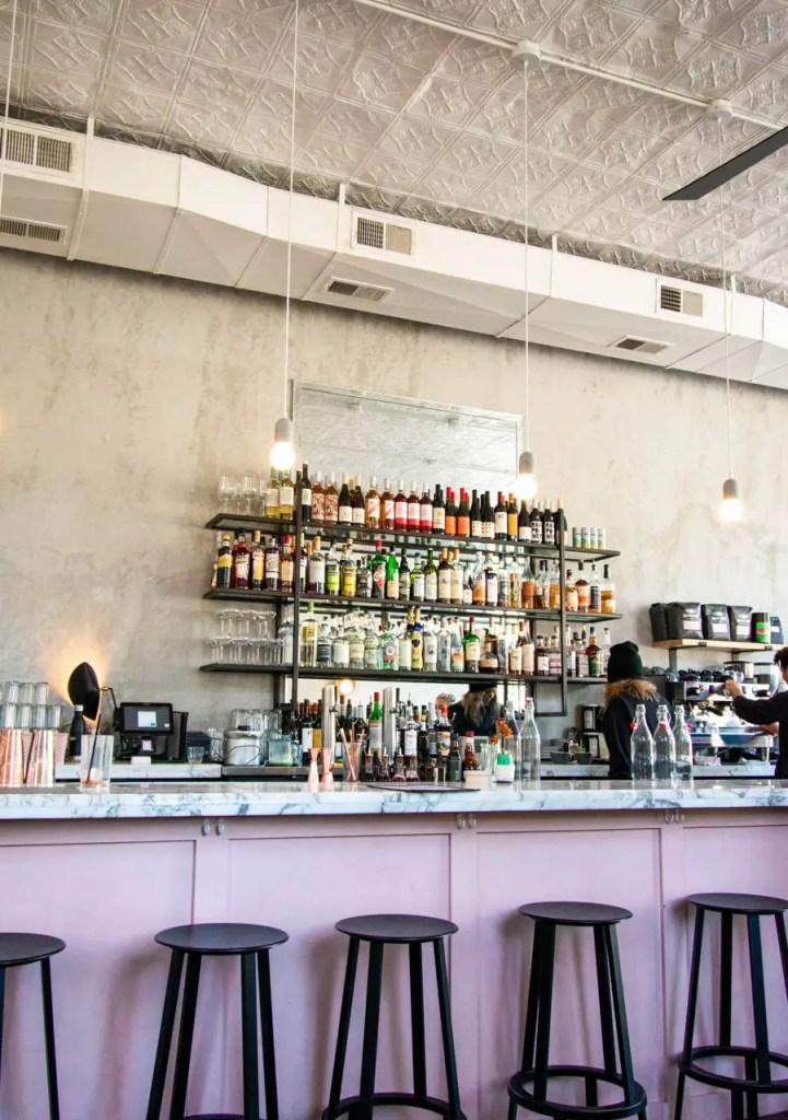 Cafe Roze Nashville bar