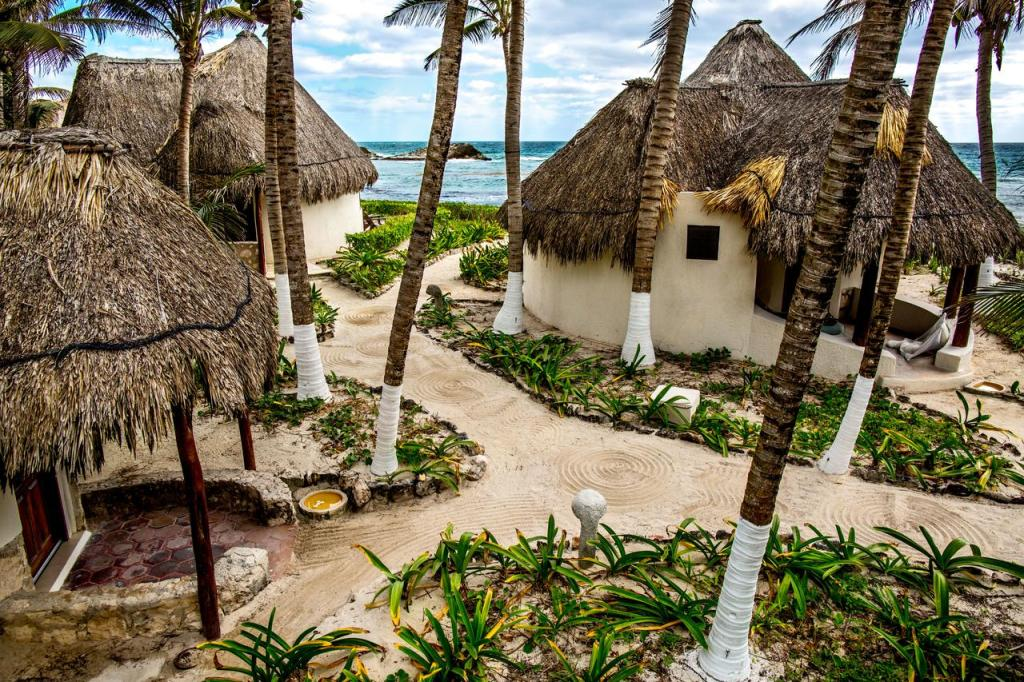 Maya - Beach bungalows in Tulum