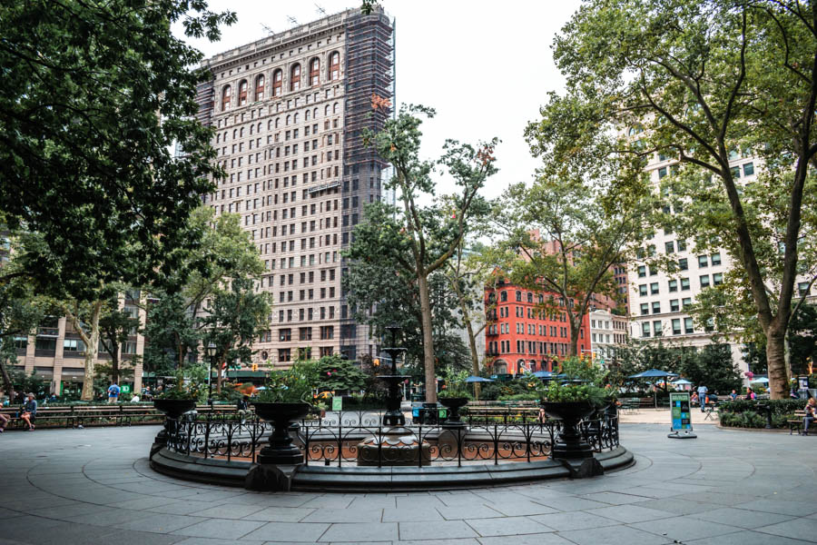 The Best Parks in NYC - Maddison Square Park