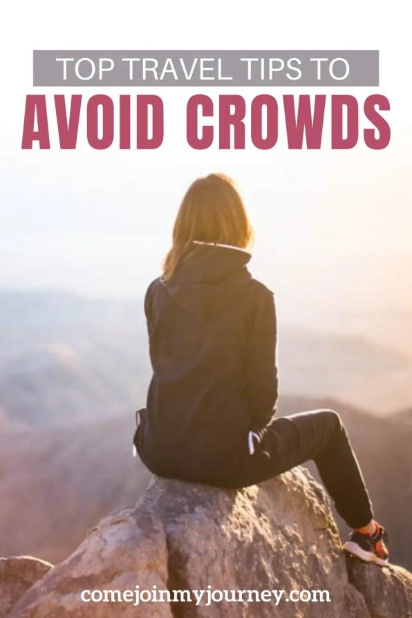avoid crowds
