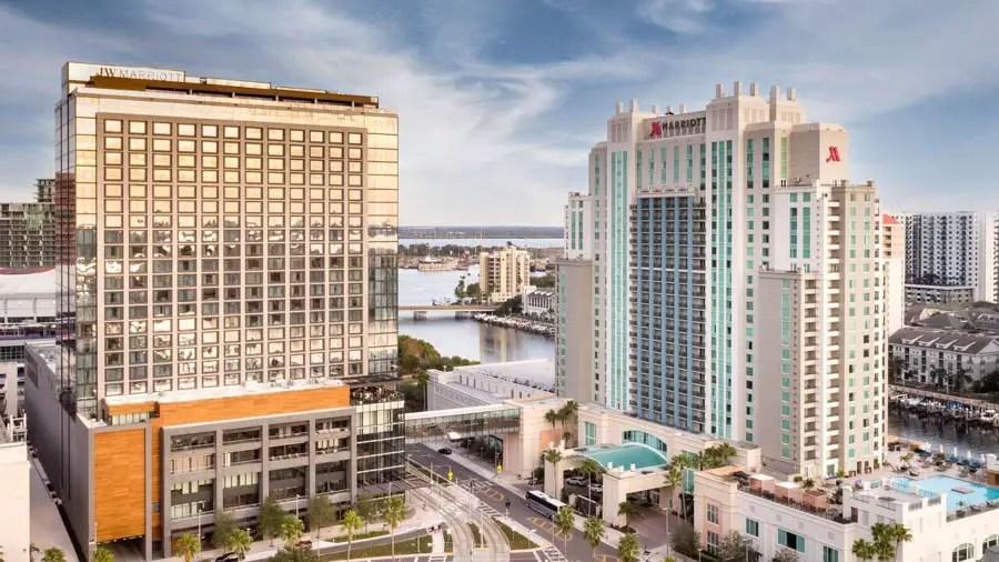 JW Marriott Tampa Water Street Best Hotel Openings February 2021