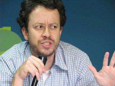 Carlos Andrés Naranjo en el Sábado del Cuento.