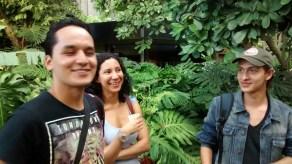 Camilo Rico y Jennifer Cohen en la Fiesta del Libro y la Cultura de Medellín