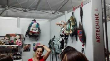 Objetos en la Fiesta del Libro y la Cultura de Medellín