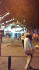Anochece en la Fiesta del Libro y la Cultura de Medellín