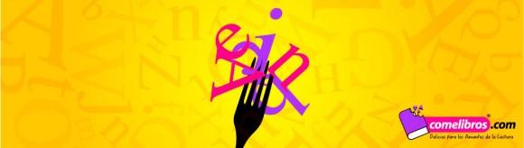 Imagen Comelibros tenedor con letras