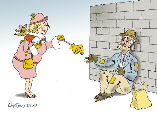 La falsa generosidad de algunos