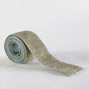elastique-vert-de-gris-lurex-or-30-mm