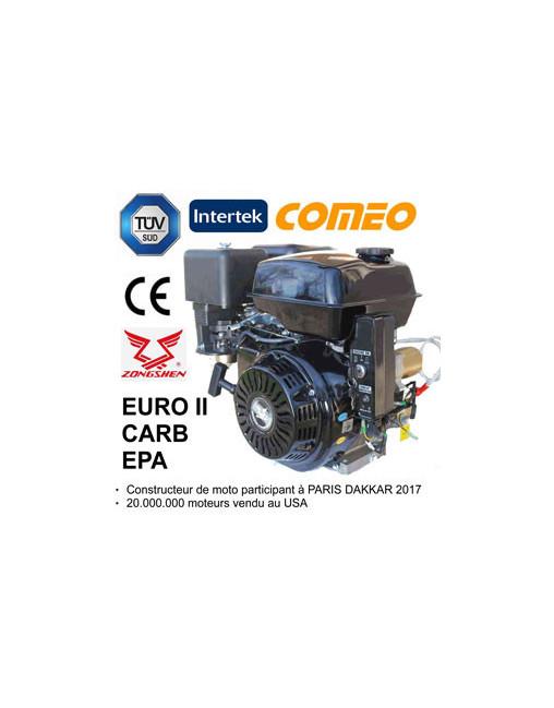 Moteur 9cv Thermique Demarreur Electrique Certifie Tuv 2 Ans Garanti